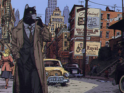 Blacksad. Blacksad